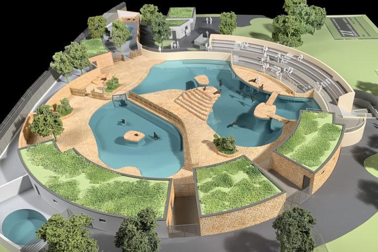 Bild von Neubau der Robbenanlage