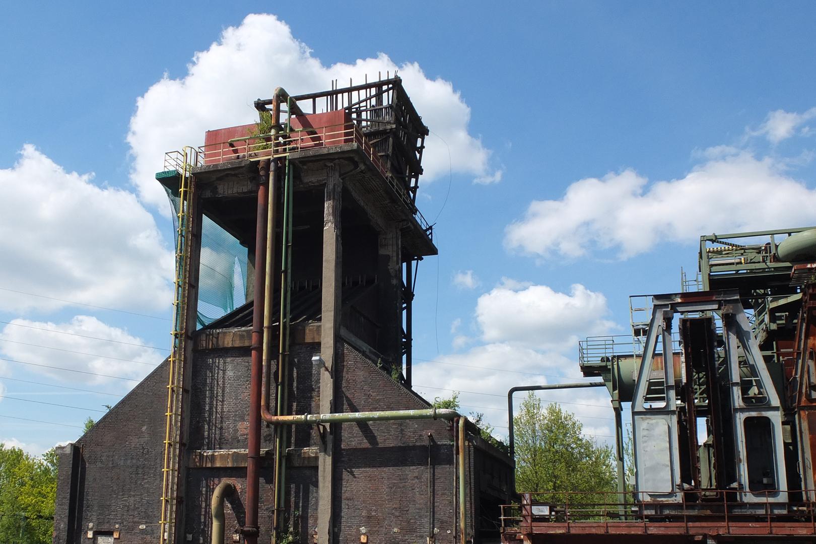 Banner Kokerei Zollverein, Sanierung Löschtürme
